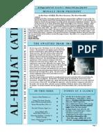 Al-Hujjat JUNE Newsletter 2013
