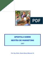 Apostila sobre Gestão de Marketing