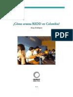 Anexo 3. Avance de REDD en Colombia