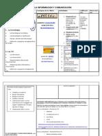 actividades   TECNOLOGIA DE LA INFORMACION Y COMUNICACIÓN
