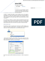 Aprenda a Dividir Arquivos RAR