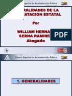 GENERALIADES DE LA CONTRATACIÓN ESTATAL