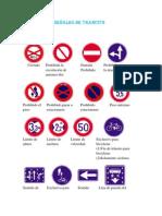 Principales señales de trancito