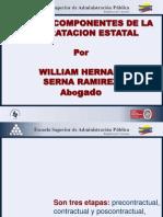 ETAPAS Y COMPONENTES DE LA CONTRATACIÓN ESTATAL