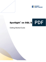 Spotlight on SQL Server Getting Started Guide