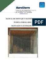 Manual de Instalacion Puerta Enrollable