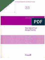 Sea Island Fuel Barge Facility