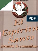 Basombrio Eduardo El Espiritu Santo Formador de Comunidades