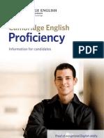 Cambridge Proficiency Test Info