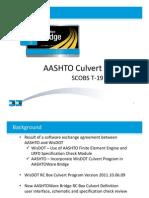T19 - AASHTO Culvert Program