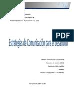 Comunicacion y Comunidad Estrategias de La Comunicacion