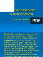 Foaie de Observatie Clinica