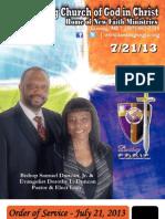 7-21-13 Sunday Program Final