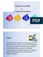 Capital Reestructuracion