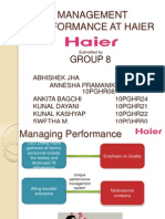 Group 5 _ HAIER Case Analysis