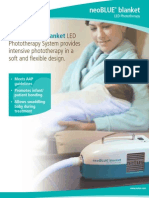 Brosur NeoBloue Blanket LED Phototherapy