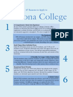 47 Reasons to Apply to Pomona College