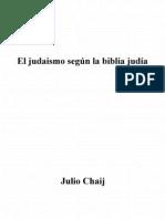 El Judaismo Segun La Biblia Judia