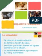 9 Dispositivo pedagógico