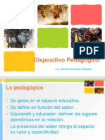 9 Dispositivo pedagógico