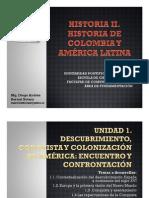 Unidad 0 Introducción y programa de clases Historia II