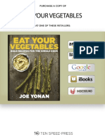 Eat Your Vegetables by Joe Yonan- Recipes