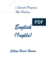 2013 - 2014 Repaso College Board Ingles
