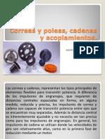 Correas y Poleas, Cadenas y Acoplamientos