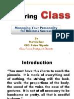 04 Mastering Class