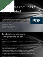 Expocicion de Cisco Amenazas Comunes a La Seguridad