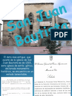 Presentacion iglesia San Juan Bautista