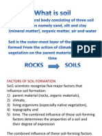 1)Formation of Soilsl From Rocks