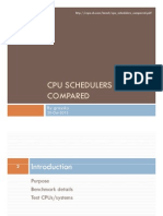 Cpu Schedulers Compared