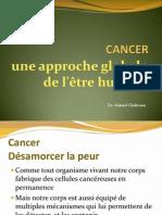 Cancer une approche globale de l'être humain