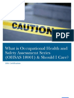Safety Assessment Series OHSAS18001