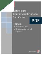 Retiro Salesiano Temas 1 2