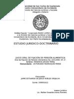 Informe Juicio Oral