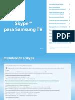 Smart TV Samsung-Skype Manual Usuario