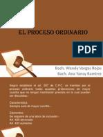 El Proceso Ordinario (1)