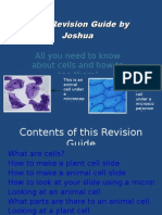 Cells Revision Guide by Joshua All You Need To