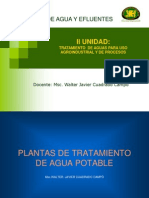 Plantas Tratamiento Agua Potable