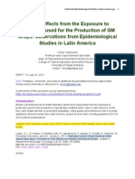 Health Effects from the Exposure to 