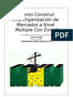 Don Failla Libro Presentaciones Servilleta