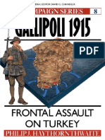 Osprey - Campaign - Gallipoli 1915
