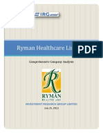 Ryman Research Report