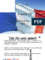 French C.E by Cara Evans 82A • House And