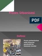 Proses Urbanisasi