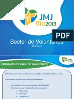 Manual de Compromiso y Esclarecimento Del Voluntario de La JMJ Rio2013 Actualizacion 05 FEBRERO