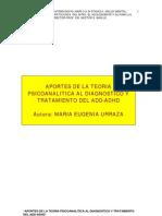 Urraza, María - Aportes de la teoría psicoanalítica al diagnóstico y tratamiento del ADHD