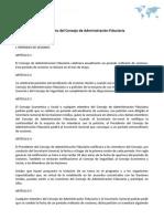 Reglamento del Consejo de Administración Fiduciaria